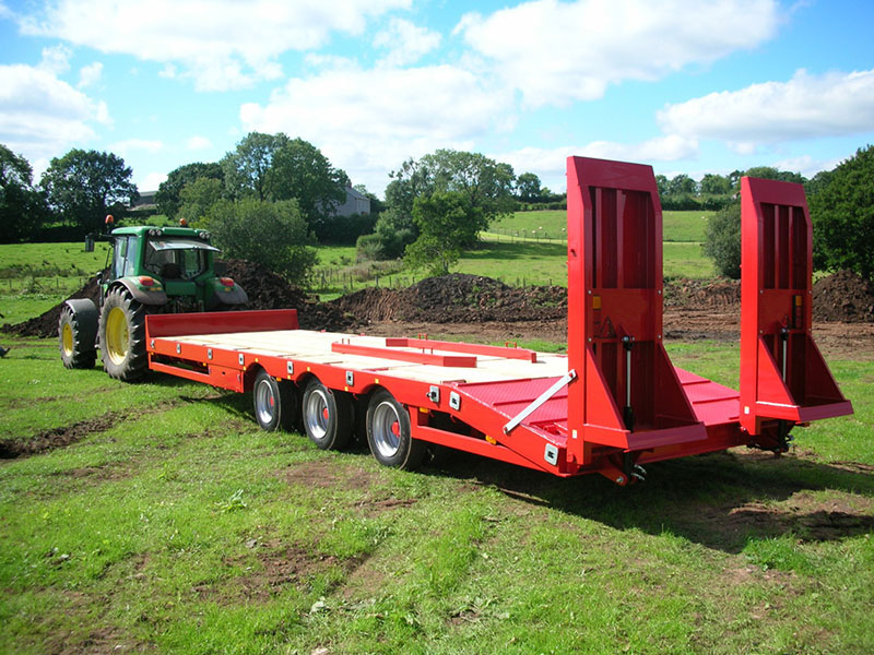 2-3 Axle Agri Low Loader